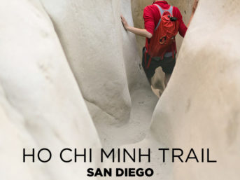 Dangerous and Hidden Surf Trail in La Jolla - Ho Chi Minh Trail San Diego.