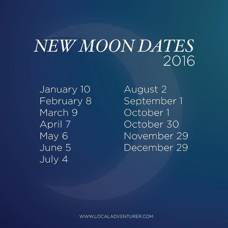 New Moon 2016