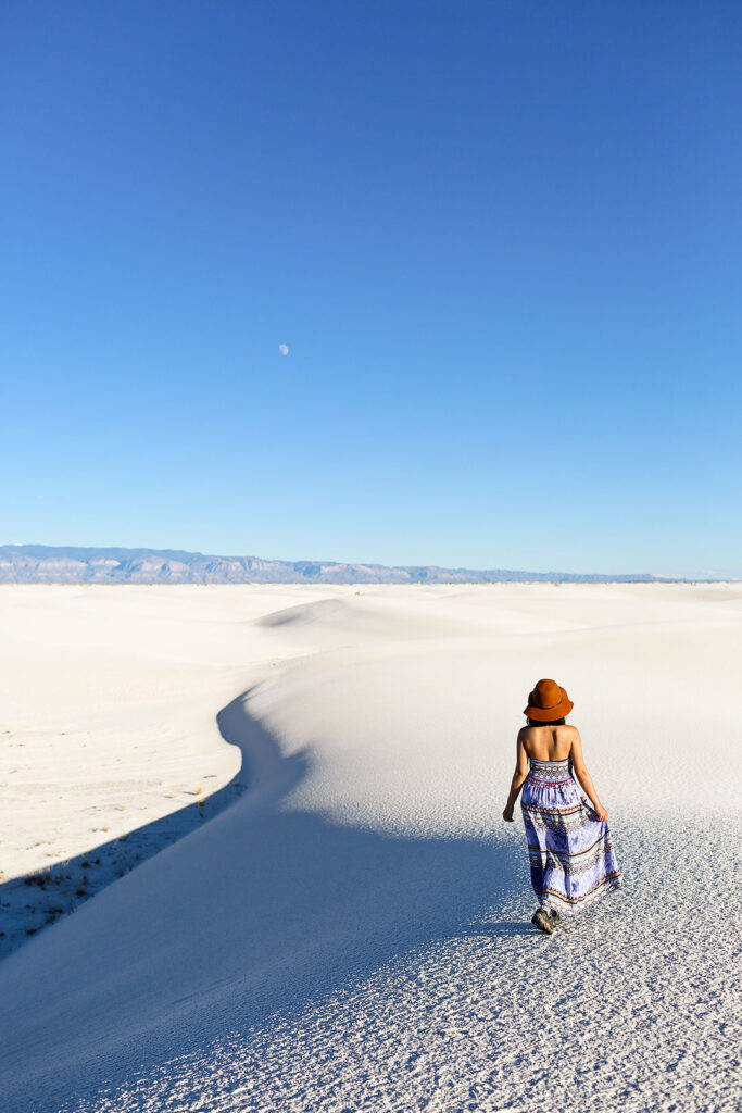 Popular White Sands in New Mexico