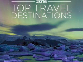 Top Travel Destinations 2016.