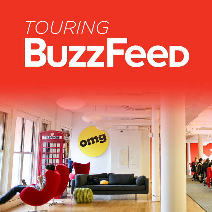 Where all the Viral Internet Magic is Made - A Tour of the Buzzfeed NYC Office.