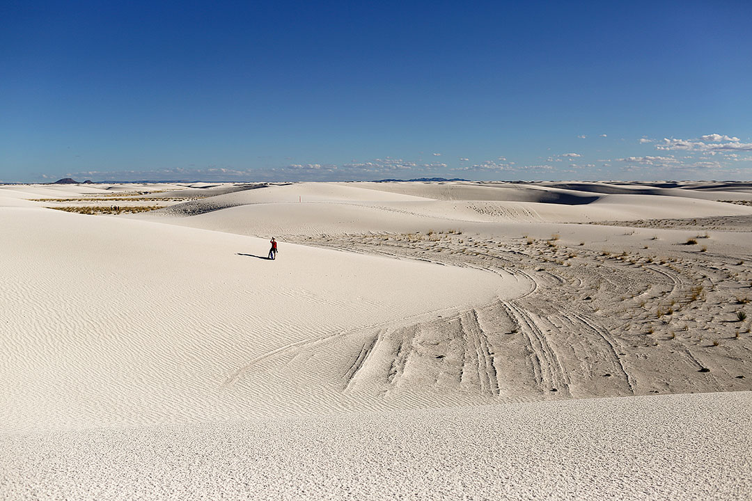 White Sands Hike in New Mexico
