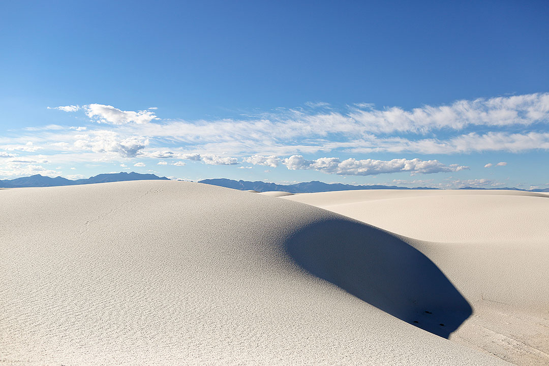 White Sands National Park Unit in New Mexico
