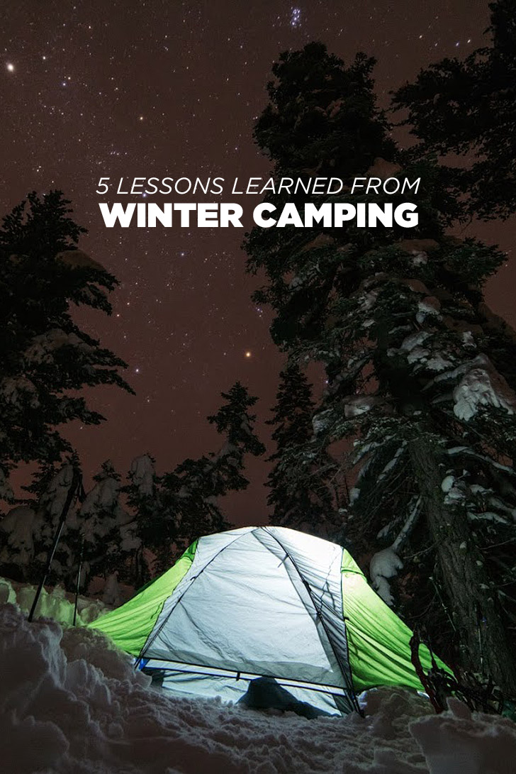 Winter Camping Tips