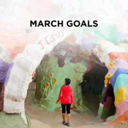 March Goals 2016 // Clear the List Link Up #7