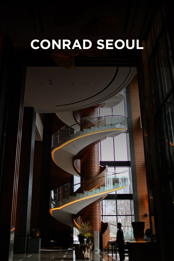 The Conrad Seoul - the perfect place to stay in Seoul Korea // localadventurer.com