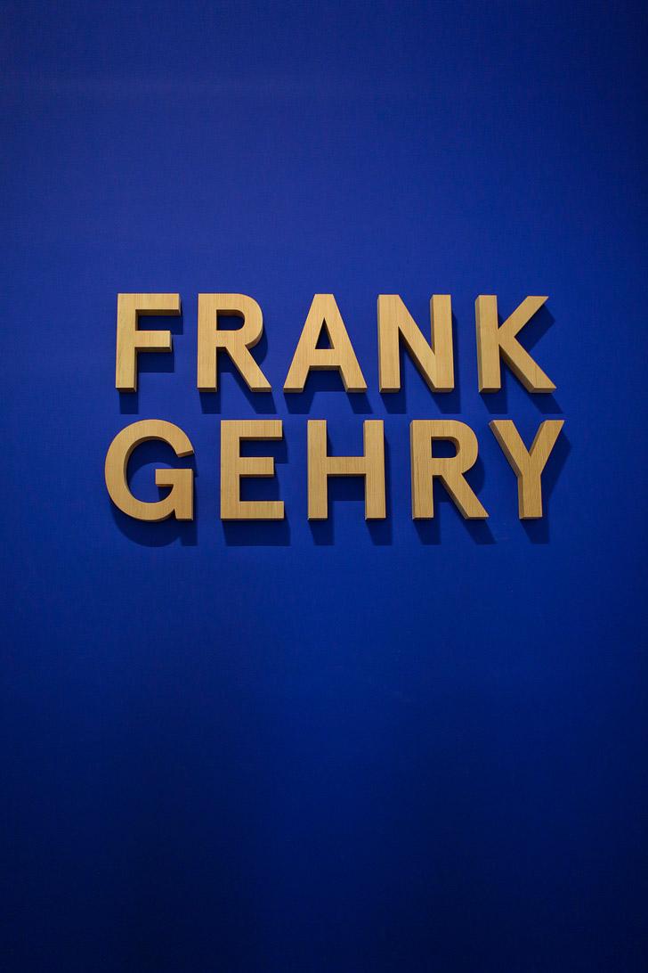 Frank Gehry Exhibit LACMA.