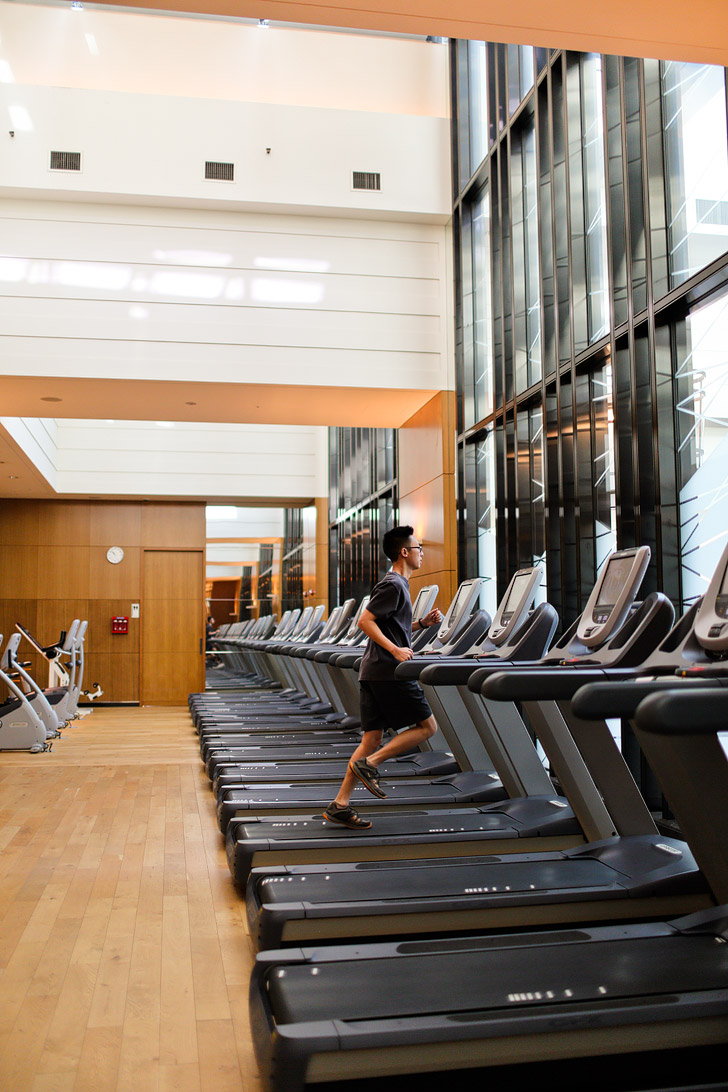 Fitness Room at the Conrad Hilton Seoul // localadventurer.com