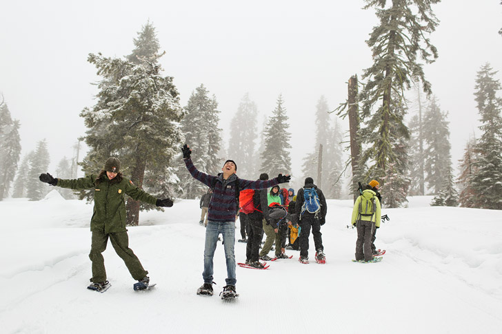 Winter Instameet at Yosemite National Park #yosemitesnowday