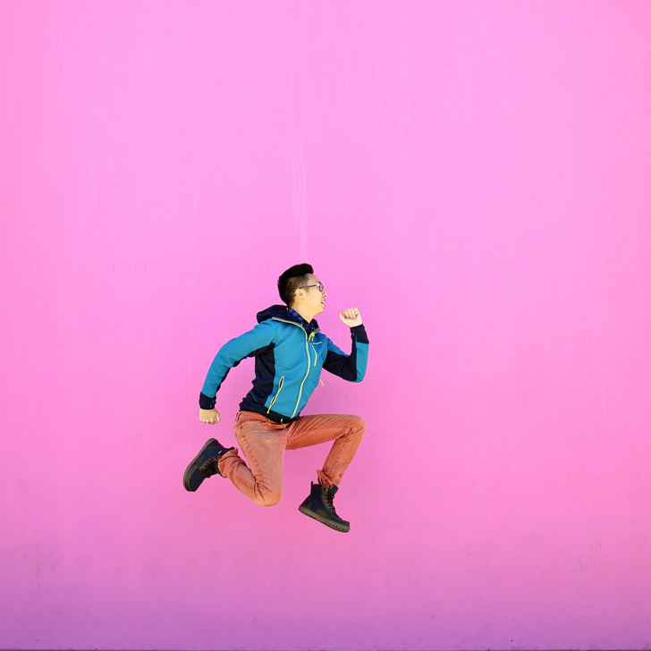 The Famous Paul Smith's Pink Wall (25 Most Popular Instagram Spots in Los Angeles) // localadventurer.com