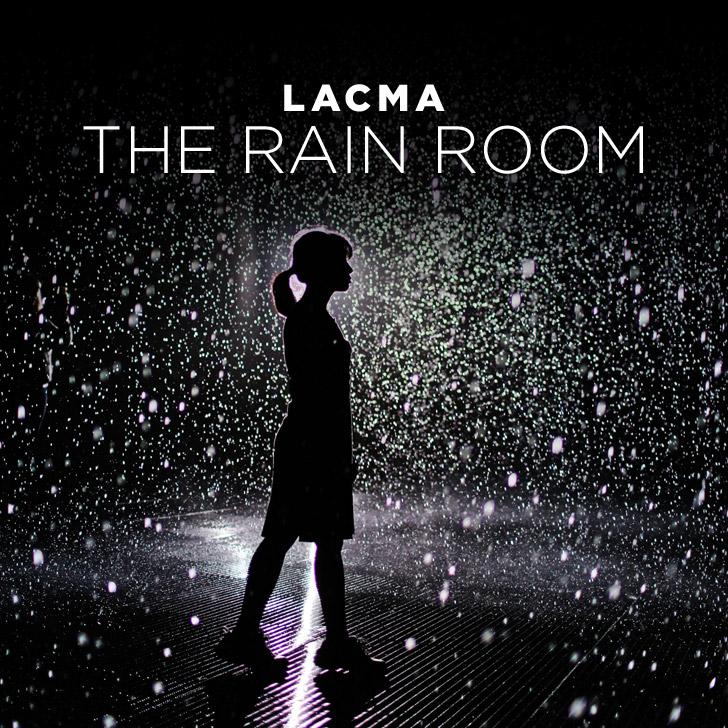 The LACMA Rain Room By Random International