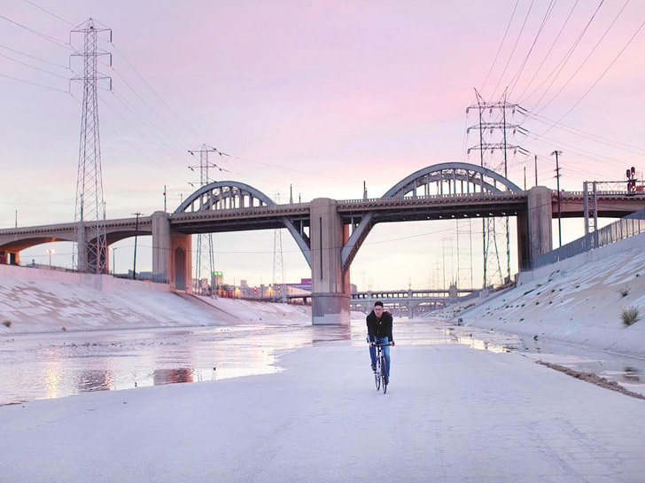 Bike Along the LA River // photo: Serena Grace // 25 Free Things to Do in LA - localadventurer.com