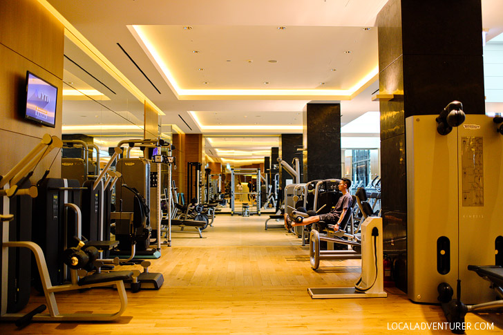 Full Gym at the Conrad Hotel Seoul Korea // localadventurer.com