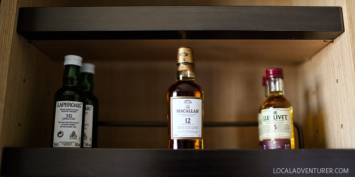 I approve! Best alcohol selection in a hotel - at Conrad Seoul Korea // localadventurer.com