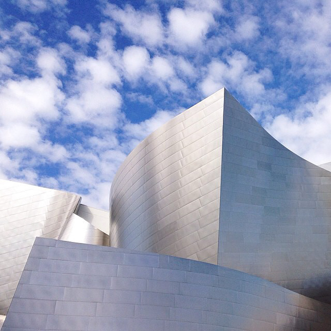 Walt Disney Concert Hall + Top LA Photo Spots (photo: erinoldfieldart) // Local Adventurer #photography #discoverla #losangeles #california #lalaland