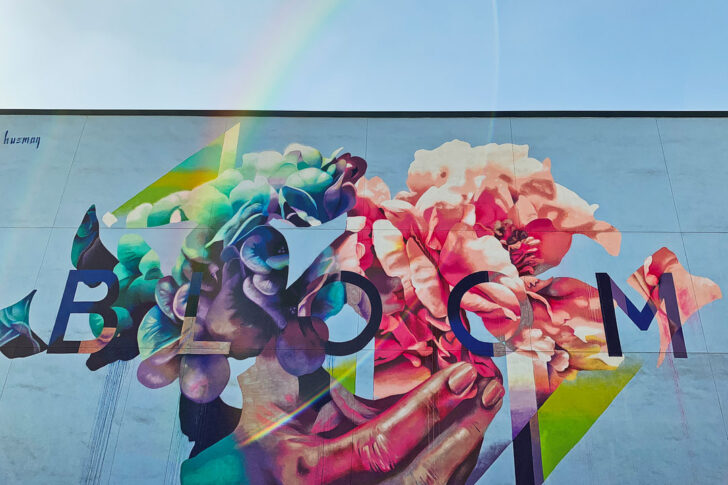 Bloom Mural Los Angeles Wall Mural