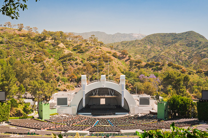 The Hollywood Bowl + 25 Free Things to Do in LA // localadventurer.com