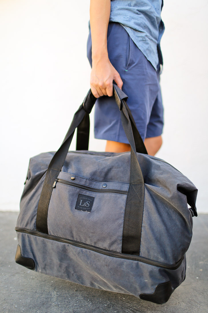 Lo and Sons Rhodes Weekender Duffel Review // localadventurer.com
