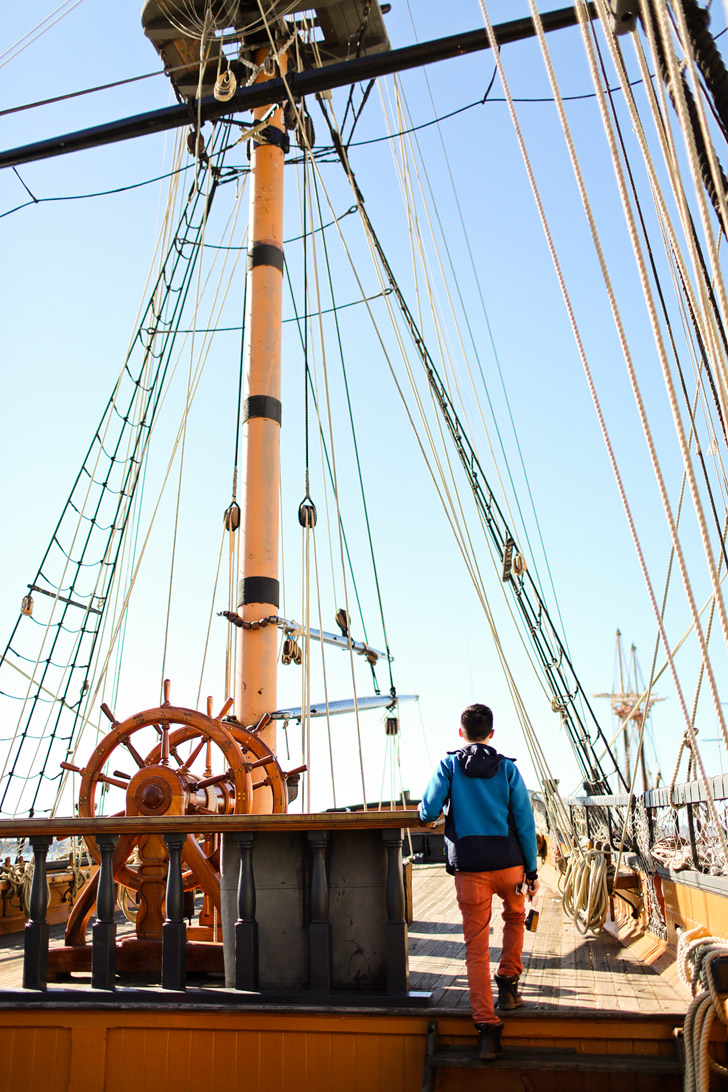 Tour of the Maritime Museum San Diego, which has one of the largest collections of historic sea vessels in the United States // localadventurer.com