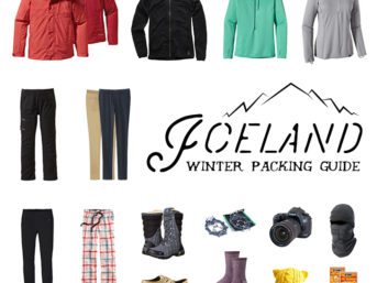 What to Pack for Iceland in Winter - 10 Days in a Carry-on // localadventurer.com