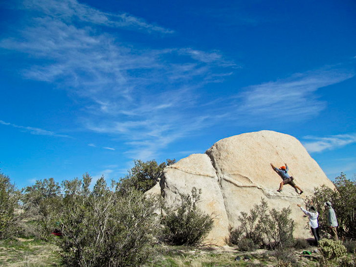 Mc Cain Valley - Best Outdoor Rock Climbing in San Diego // localadventurer.com