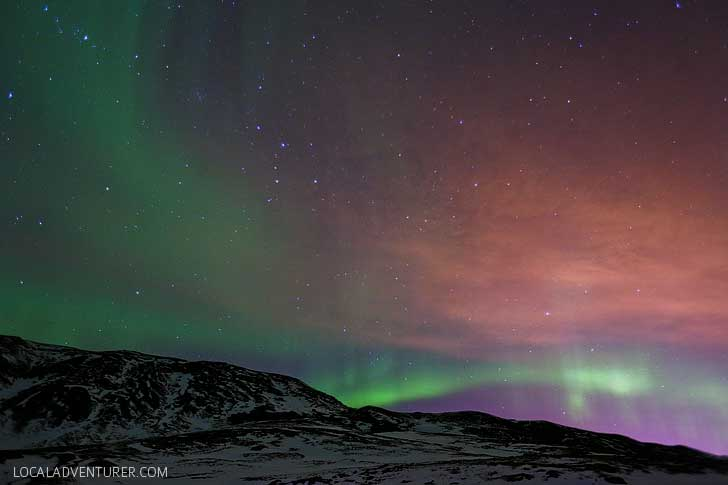 Tips on How to Catch the Northern Lights and Best Place to See the Northern Lights // localadventurer.com
