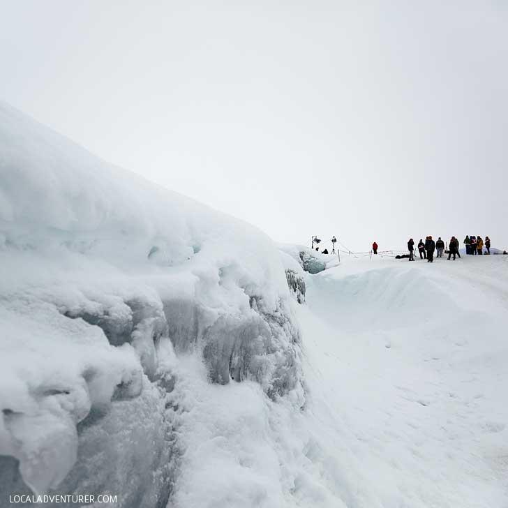 The Crystal Cave Iceland, Ice Cave in Vatnajökull Glacier, Skaftafell National Park // localadventurer.com