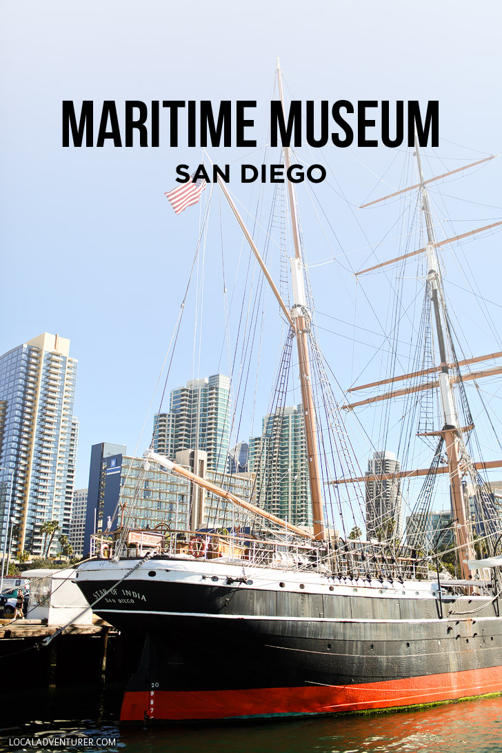 Tour of the Maritime Museum of San Diego, which has one of the largest collections of historic sea vessels in the United States // localadventurer.com