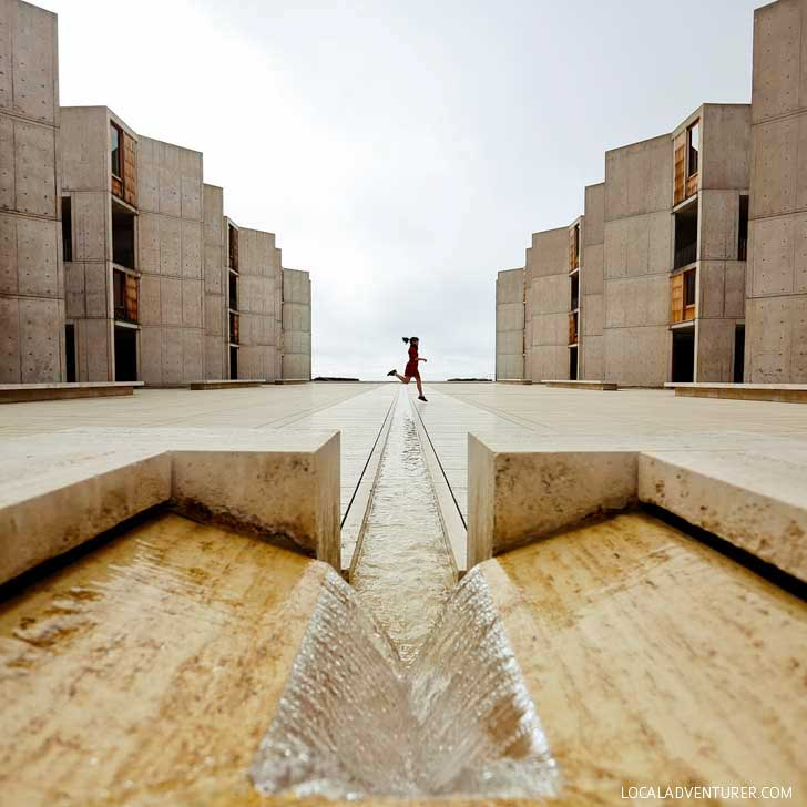 Salk Institute for Biological Studies + Best Instagram Spots in San Diego // localadventurer.com