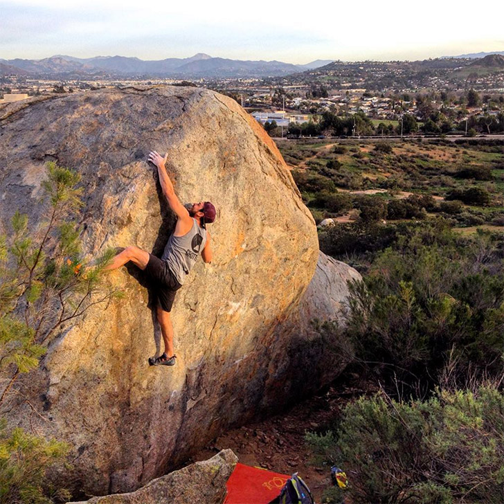 Santee Boulders - Best Bouldering and Outdoor Rock Climbing in San Diego // localadventurer.com