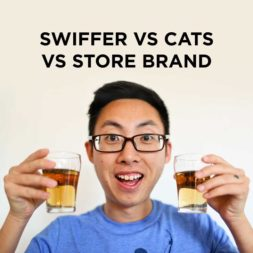 Swiffer Vs Cats Vs Store Brand!