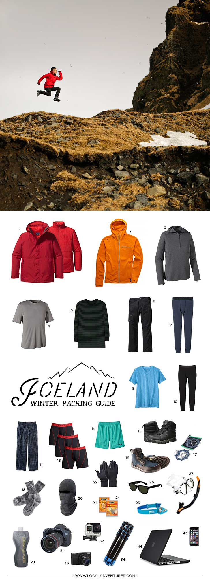 What to Pack for Iceland in the Winter - 10 Days in a Carry-On 967ea995c
