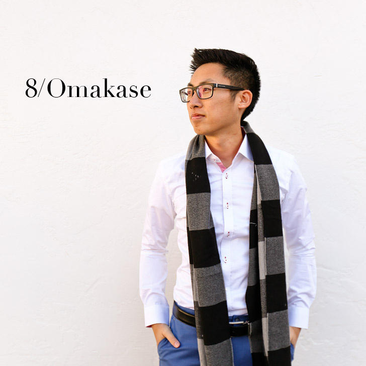 8/omakase – Personal Stylist + Tailor in a Box