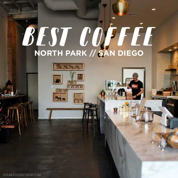 Favorite North Park Coffee Spots (San Diego Neighborhood Guides) // localadventurer.com