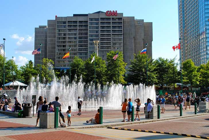 Centennial Olympic Park (Free Things to Do in Atlanta) // localadventurer.com