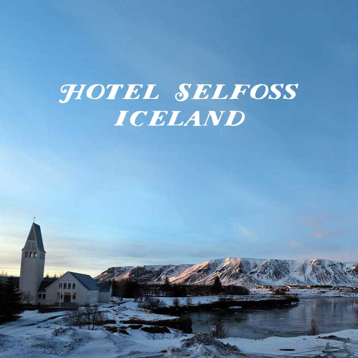 Hotel Selfoss - Best Hotels in Iceland - On the banks of the Ölfusá River - a 4-minute walk from Selfosskirkja church and 7 km from the Icelandic Horse Park Fákasel // localadventurer.com