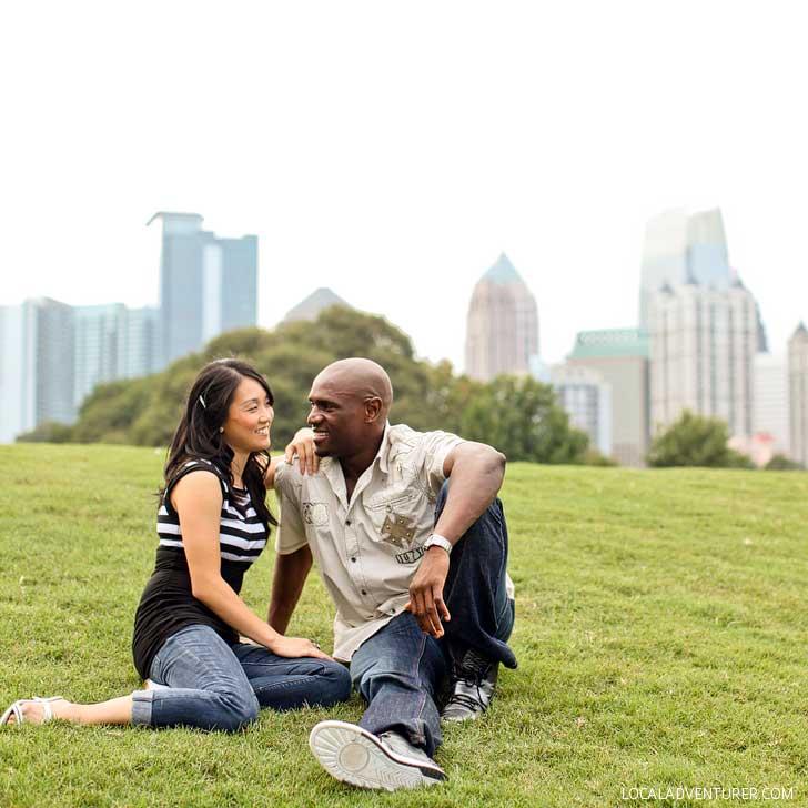 Piedmont Park Midtown Atlanta (Free Things to Do in Atlanta Georgia) // localadventurer.com