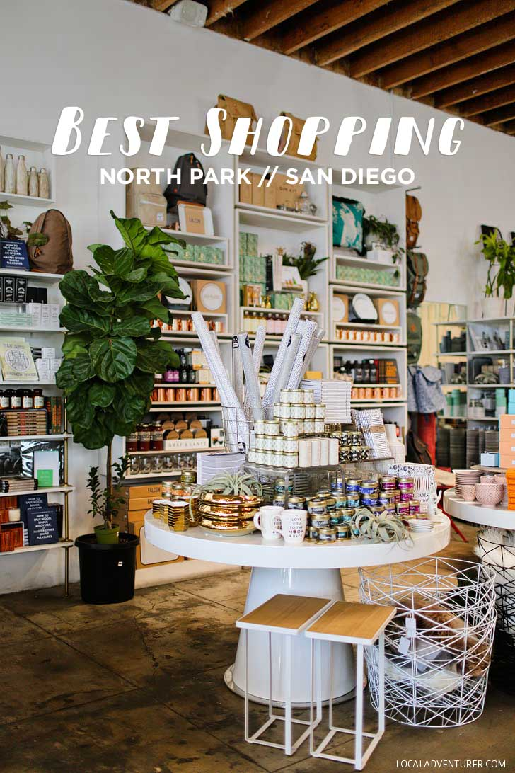 Best North Park Stores to Shop At (San Diego Neighborhood Guides) // localadventurer.com