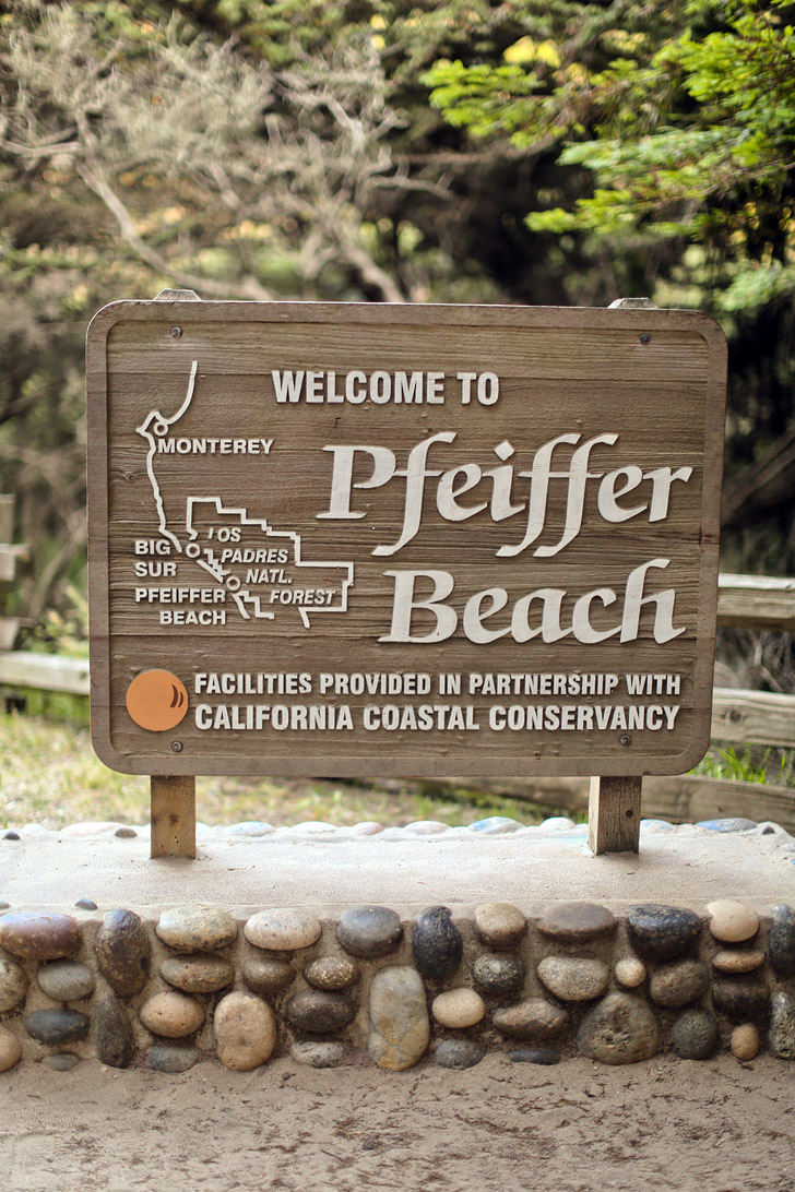 Pfeiffer Beach Sur California Famously Known For Its Purple Sand Localadventurer