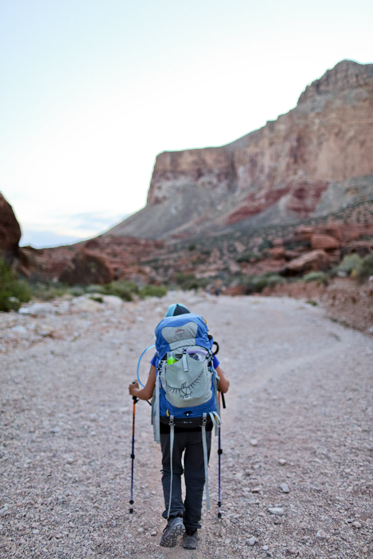 Hiking to Havasupai Falls - there are 5 named waterfalls in the Havasupai Indian Reservation // localadventurer