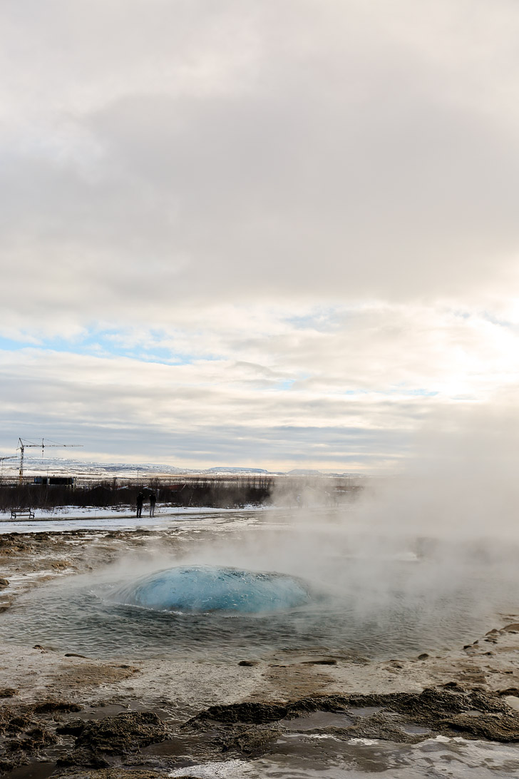 Strokkur Geyser (Iceland Winter Road Trip - Best Stops and Places to Avoid) // localadventurer.com
