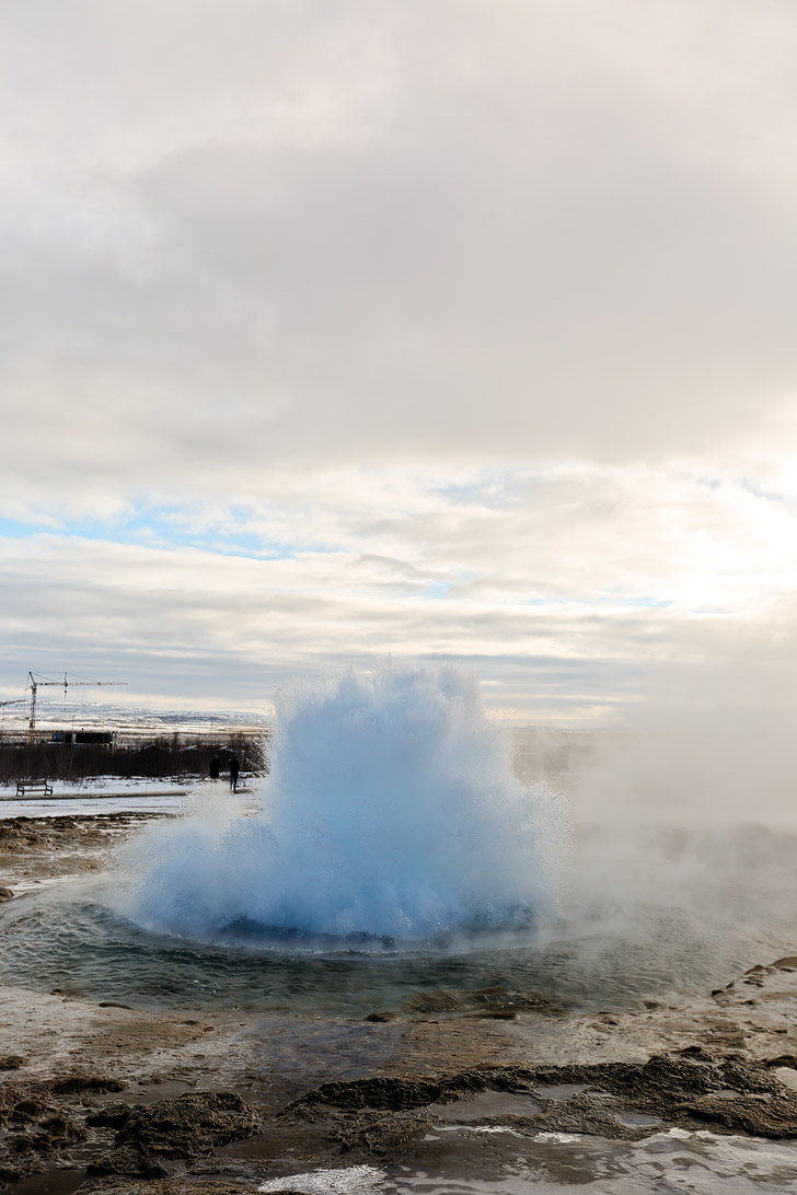 Strokkur Geyser - The Best Golden Circle Tour with Mountaineers of Iceland // localadventurer.com