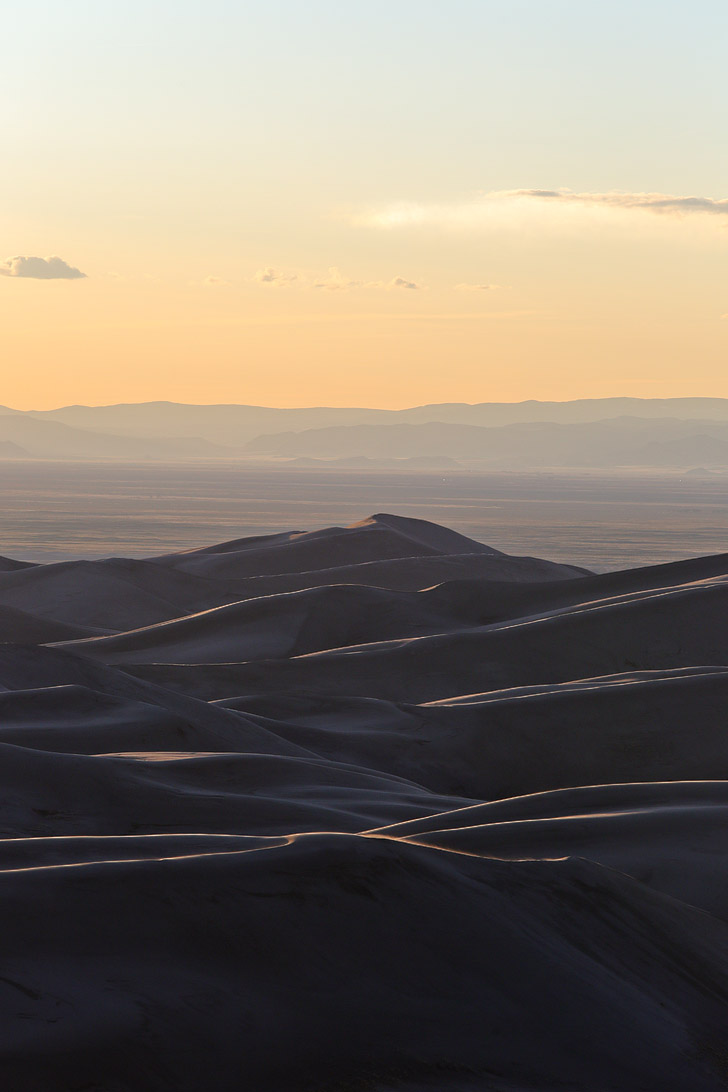 Great Sand Dunes National Park Colorado - home of the tallest sand dunes in North America // localadventurer.com