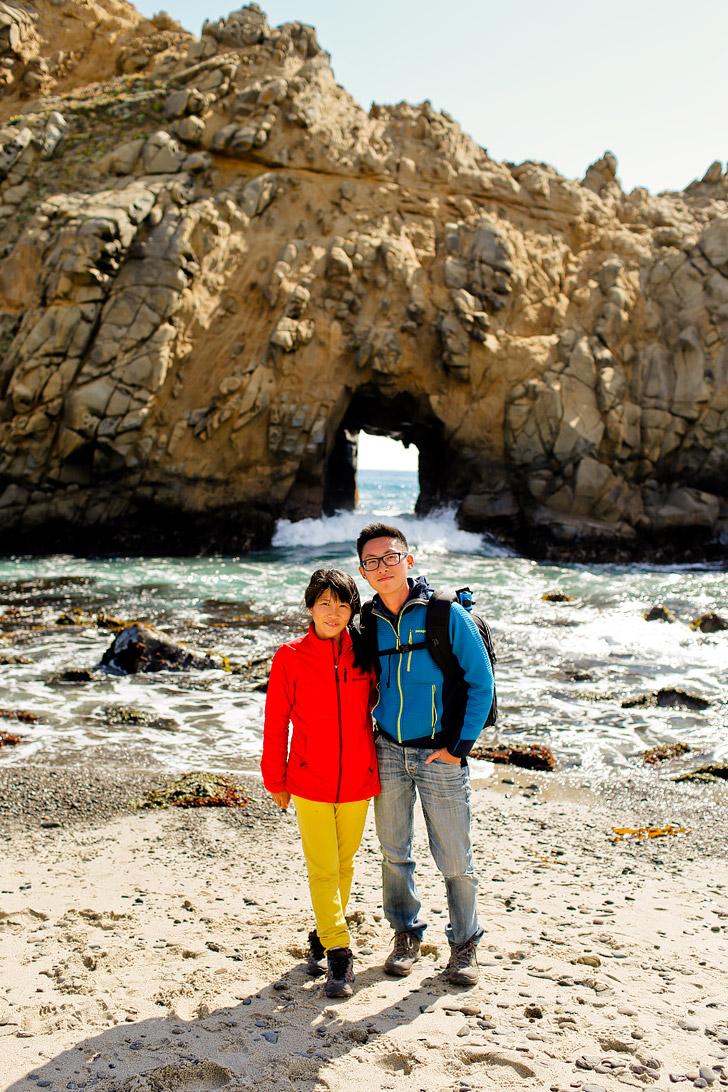 Purple Sand Beach in Big Sur California - Pfeiffer Beach, Monterey County // localadventurer.com