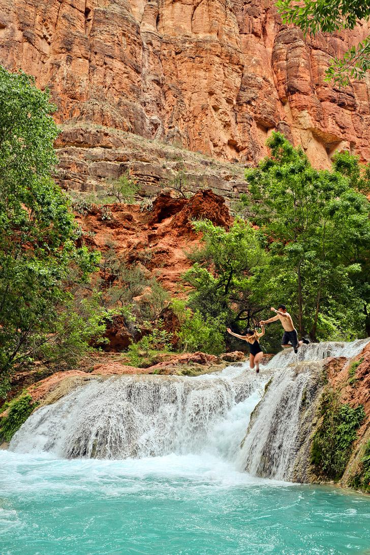 Beaver Falls, Havasupai Indian Reservation, Supai, Arizona // localadventurer.com