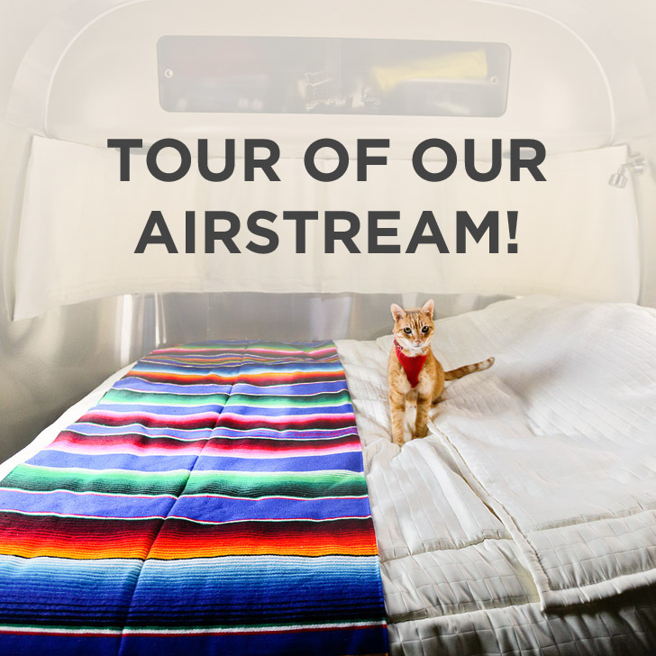 Welcome to Our New Home – Our Airstream Tour