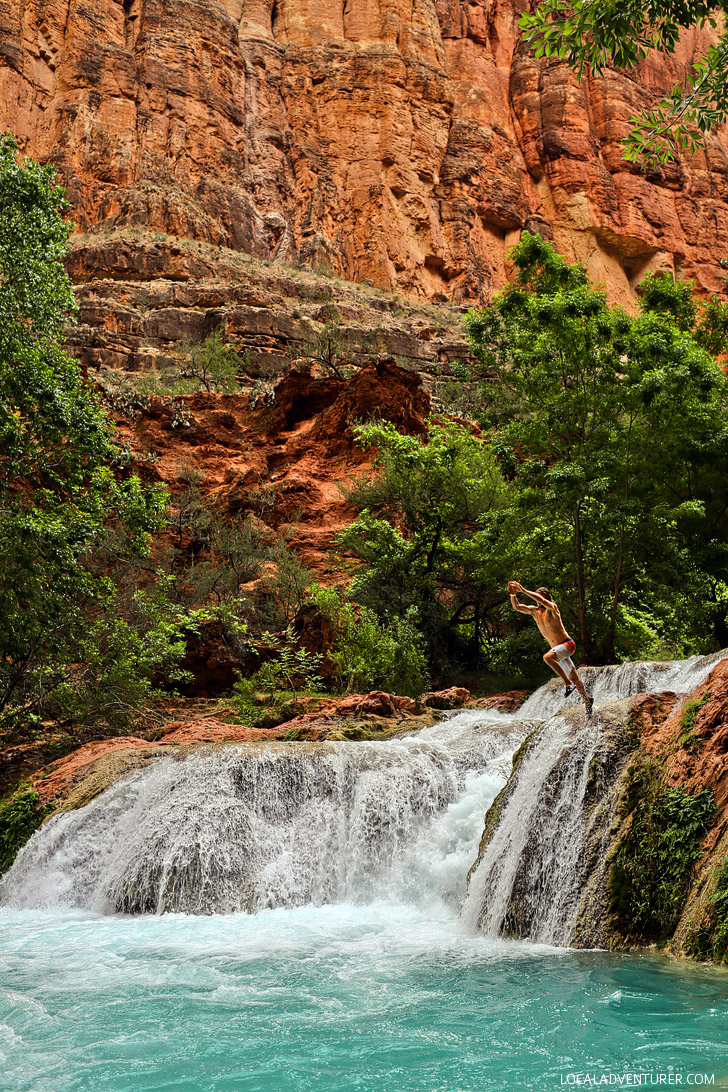 Beaver Falls, Havasupai Indian Reservation, Arizona // localadventurer.com