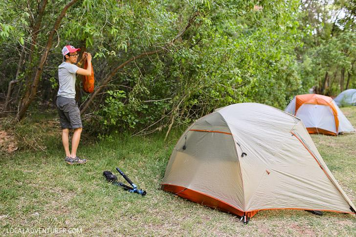 Havusupai Campground // localadventurer.com