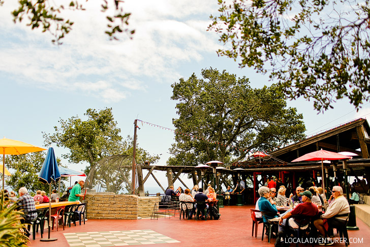 Nepenthe Big Sur Restaurant - Dinner with the best views along Highway 1 // localadventurer.com