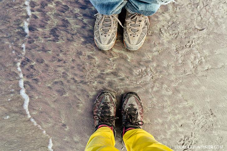 Purple Sand Beach in California USA // localadventurer.com